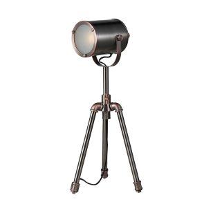 Dar Jake Table Lamp - Antique Silver