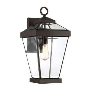 Quoizel Ravine Large Outdoor Lantern Wall Light - Western Bronze