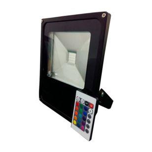 50W RGB LED Remote Controlled Floodlight