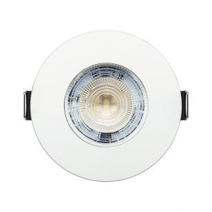 Integral Evofire+ 3.8W Warm White Dimmable LED Fire Rated Fixed Downlight - White