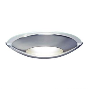 Dar Via Wall Light -  Satin Chrome