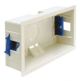 2 Gang Dry Lining Box - 35mm