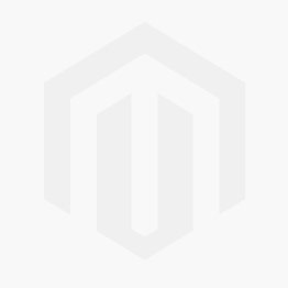 Dar Elba 5 Light Glass Semi-Flush Ceiling Light - Polished Chrome