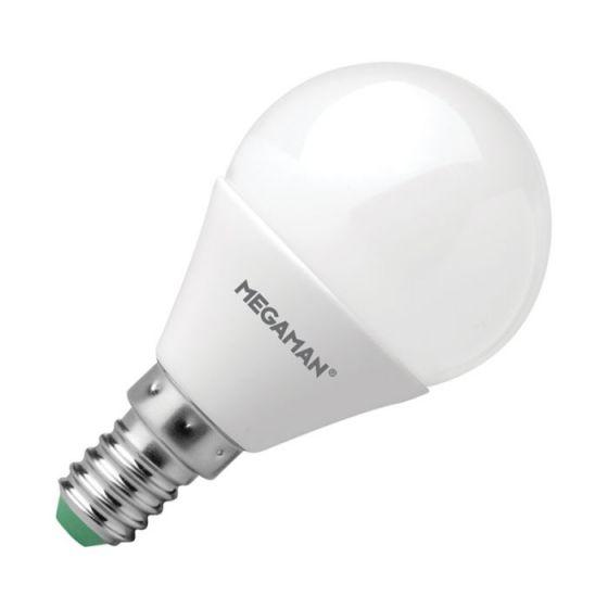 Megaman 3.5W Warm White LED Golf Ball Bulb - Small Screw Cap