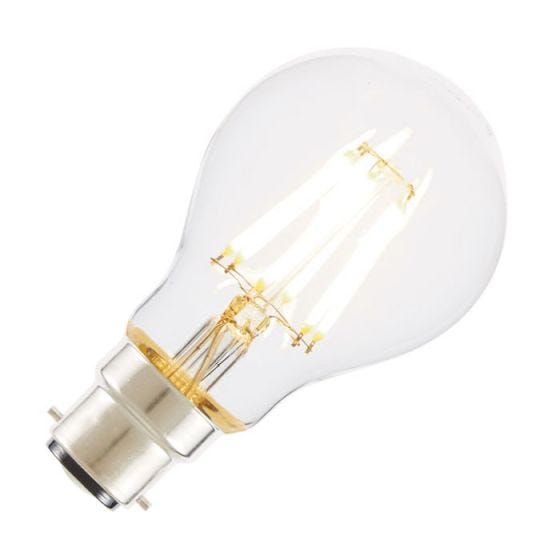 Tagra 7W Warm White Dimmable LED Decorative Filament GLS Bulb - Bayonet Cap