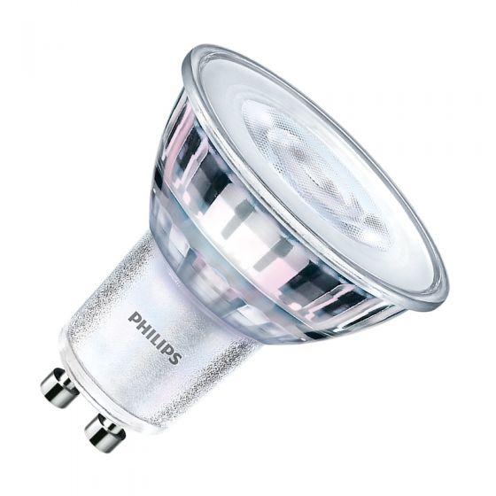Philips CorePro LEDspot 4.6W Warm White 2700k LED GU10 Bulb - Flood Beam