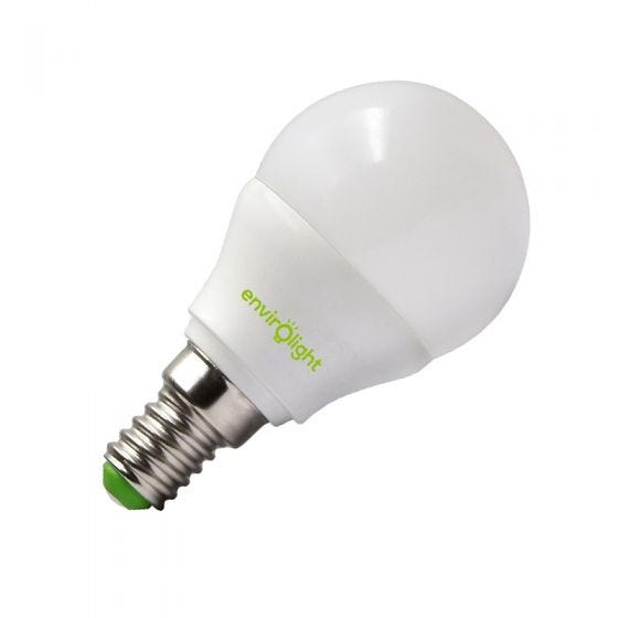 Envirolight 5W Warm White LED Golfball Bulb - Small Screw Cap