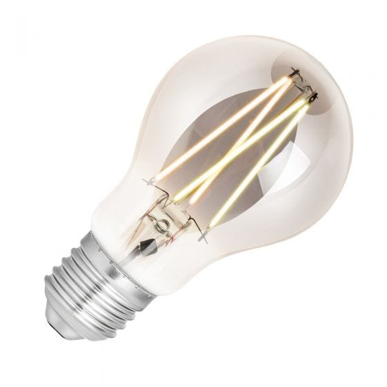 WiZ 6.5W White Changing Dimmable LED Decorative Filament Smart WiFi Smoky GLS Bulb - Screw Cap
