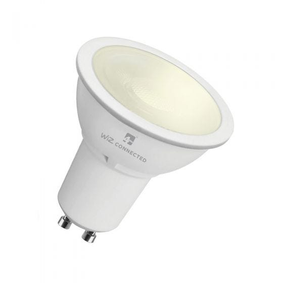 WiZ 5.5W Warm White Dimmable LED Smart Wifi GU10 bulb