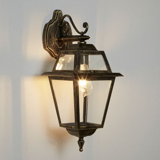 Searchlight New Orleans Outdoor Hanging Lantern Wall Light