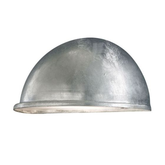 Konstsmide Torino Outdoor Wall Washer Light - Galvanised Steel