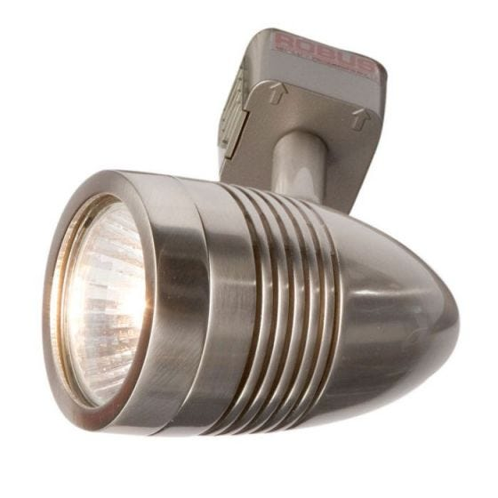 Robus Acorn 1 Circuit Spotlight Head - Satin Chrome