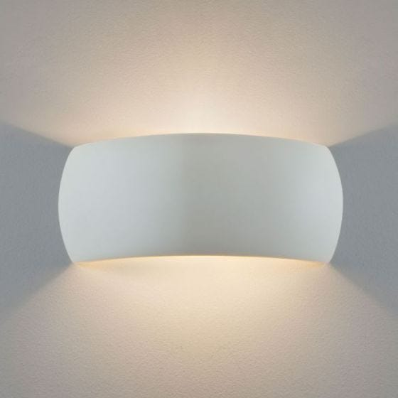Astro Milo 310 Ceramic Up & Down Wall Light