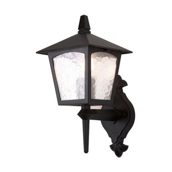 Elstead York Outdoor Lantern Wall Light
