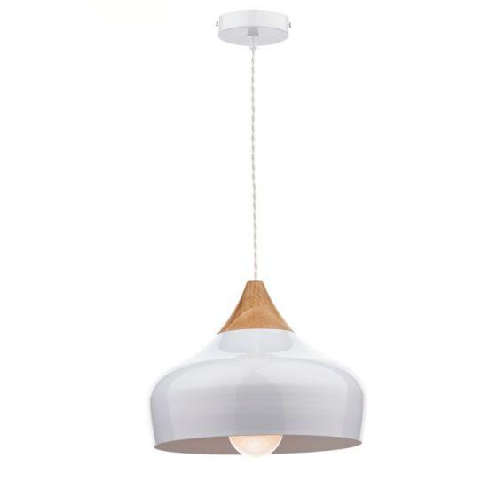 Dar Gaucho Ceiling Pendant Light - White