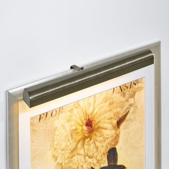 Ultimate LED Large Battery Operated Picture Light  - Antique Brass