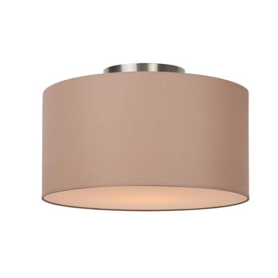 Lucide Coral Flush Ceiling Light - Taupe