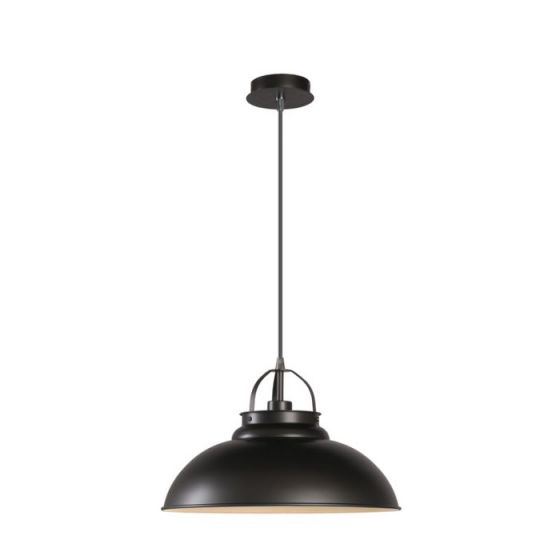 Lucide Hamois Ceiling Pendant Light - Iron Grey