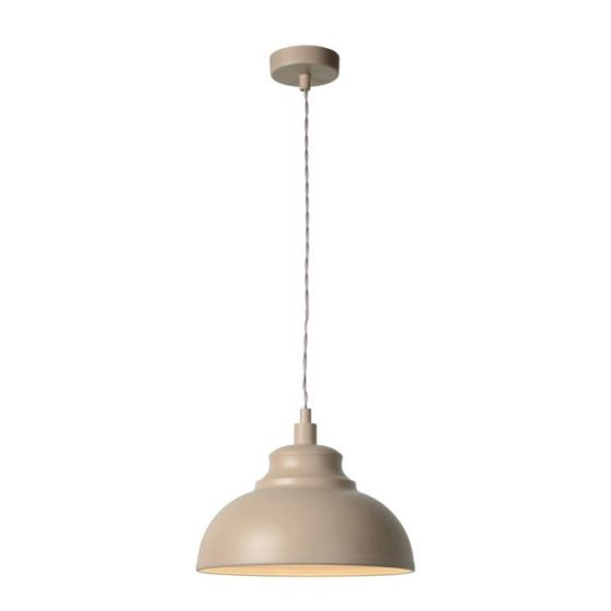 Lucide Isla Ceiling Pendant Light - Taupe