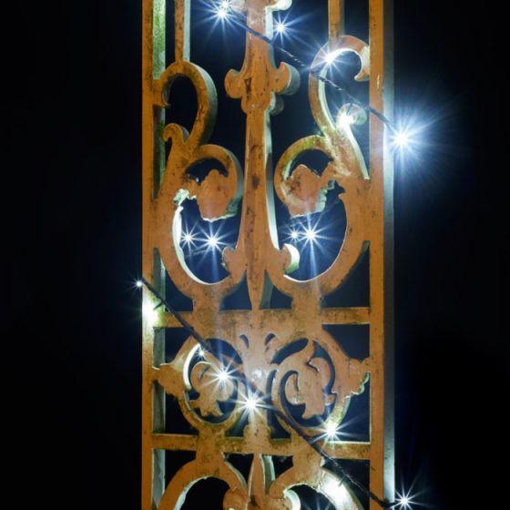 Konstsmide White Micro LED Multi-Function String Lights - 120 Lights