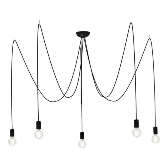 Edit Spider 5 Arm Ceiling Pendant Light