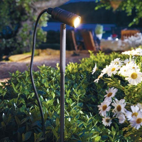 EasyFit 12v Garden Lights - LED Stake Light - Black