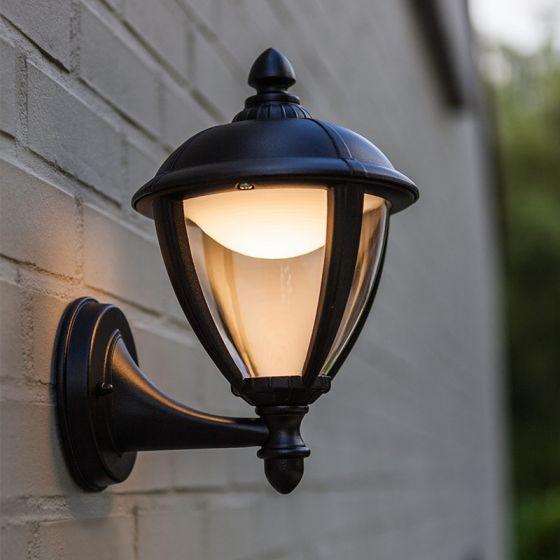 Lutec Unite LED Wall Light - Black