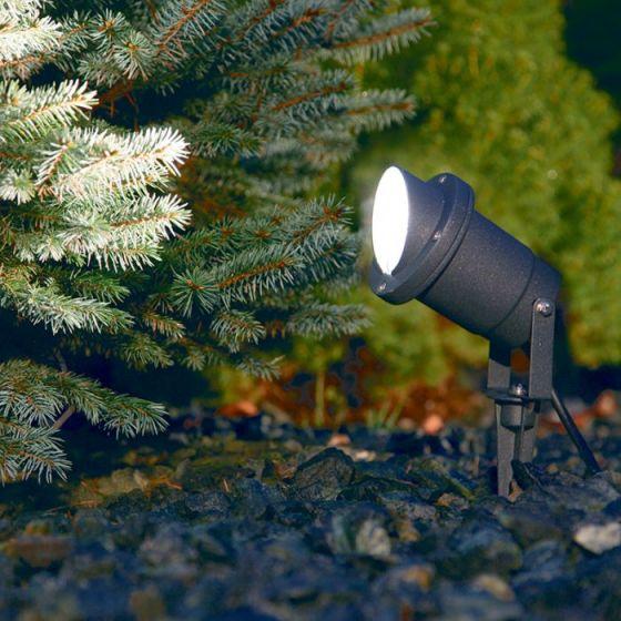 Edit Bush Garden Spotlight - Black