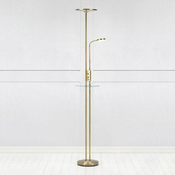 Friend LED Floor Lamp with USB Charging Port