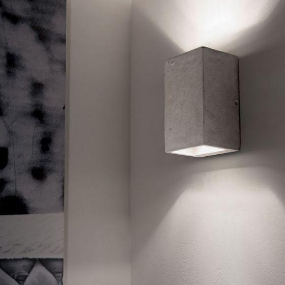 Kool Up & Down Wall Light - Concrete