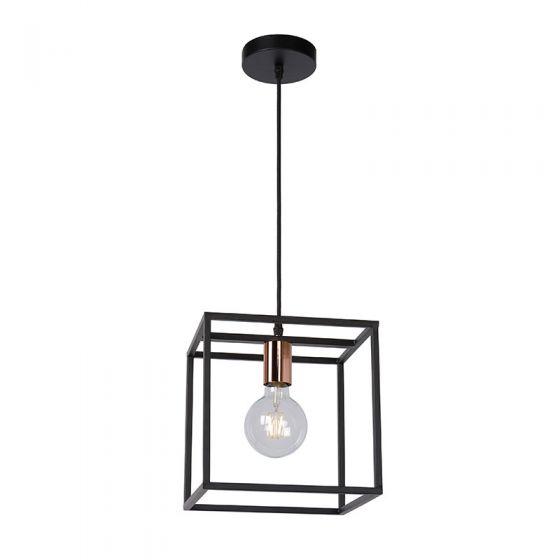 Lucide Arthur Ceiling Pendant Light - Black