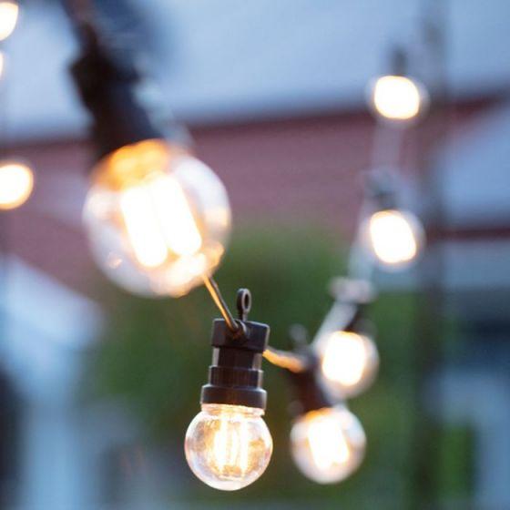 Garden 24V - LED Golf Ball Festoon Kit - 20 Lights