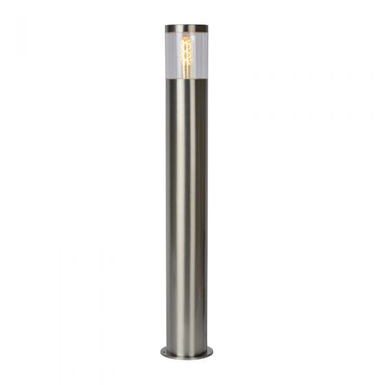 Lucide Fedor Outdoor Bollard Light - Satin Chrome