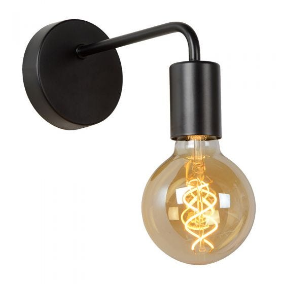 Lucide Scott Wall Light - Black