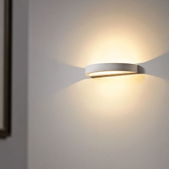 Edit Sleek LED Plaster Up & Down Wall Light