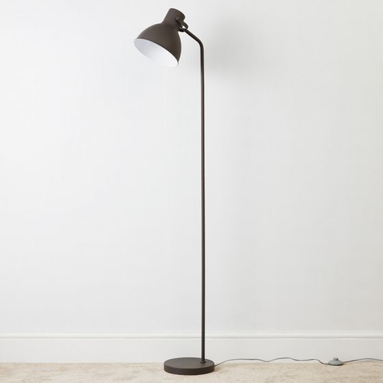 Edit Hudson Floor Lamp - Grey