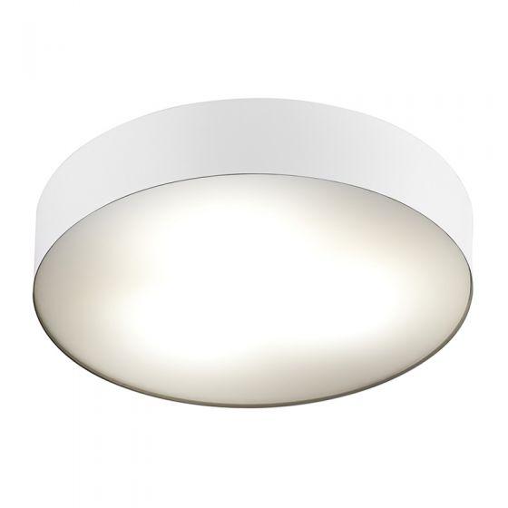 Edit Stadium Flush Ceiling Light - White