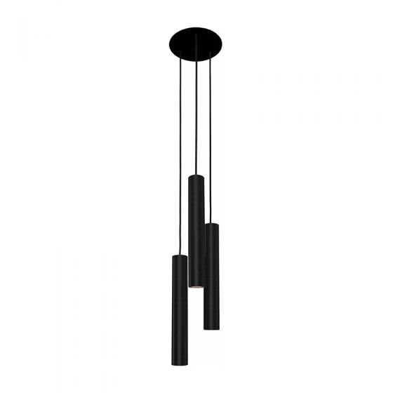 Edit Eye 3 Light Cascade Ceiling Pendant - Black