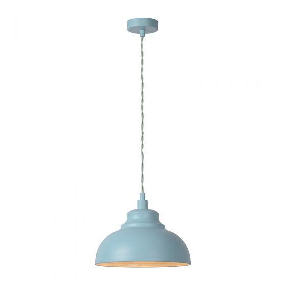 Lucide Isla Ceiling Pendant Light - Pale Blue