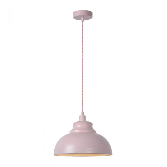 Lucide Isla Ceiling Pendant Light - Pink