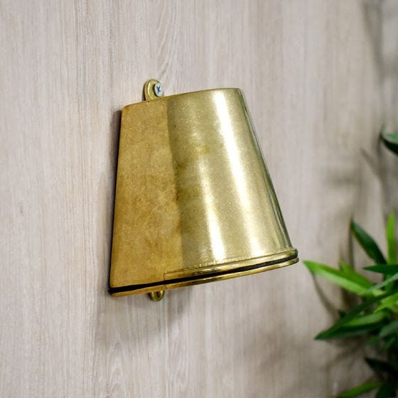 Edit Coastal Anchor Outdoor Wall Light - Brass