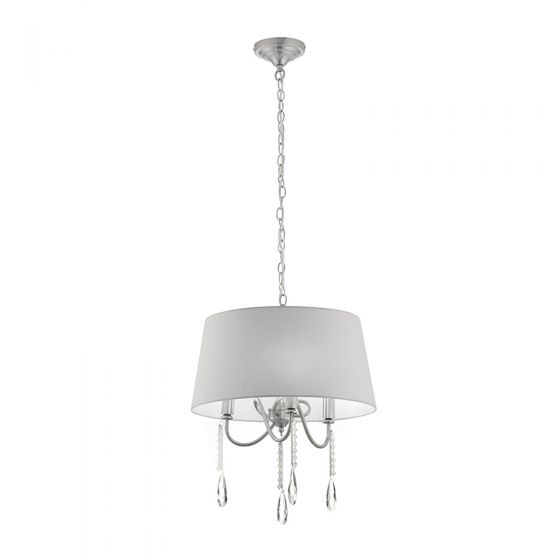 Edit Bay 3 Arm Ceiling Pendant Light - Grey