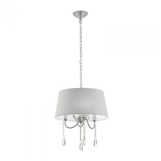 Edit Bay 3 Arm Ceiling Pendant Light - Grey