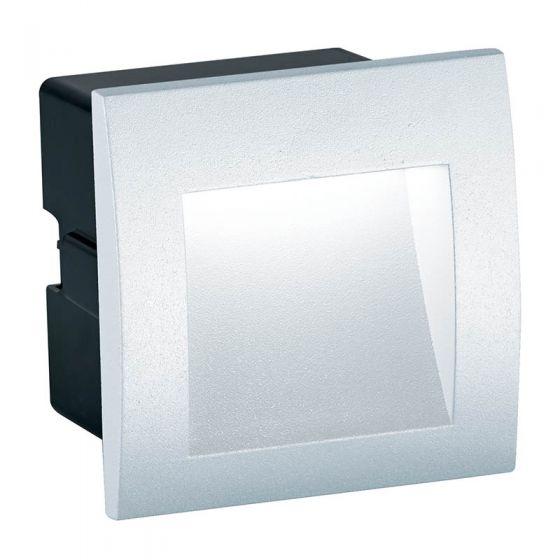 Edit Mason Square LED Outdoor Wall Light - White