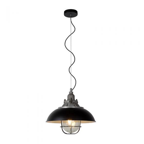 Lucide Gringo Ceiling Pendant Light - Black