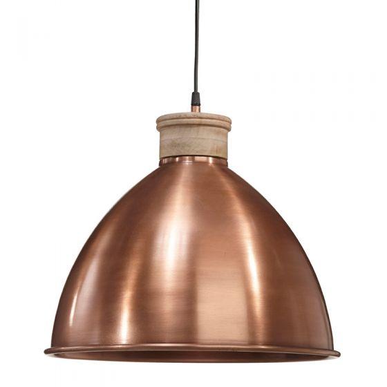 Edit Roseville Large Ceiling Pendant Light - Copper