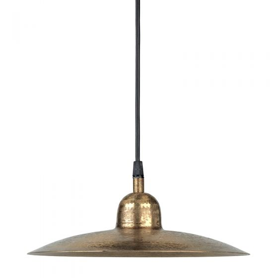 Edit Como Ceiling Pendant Light with Plug - Beaten Gold
