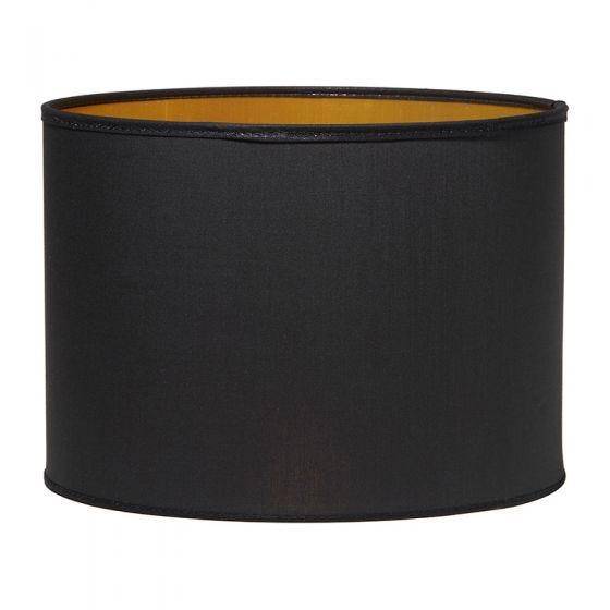 Edit Raven Lamp Shade - Black & Gold