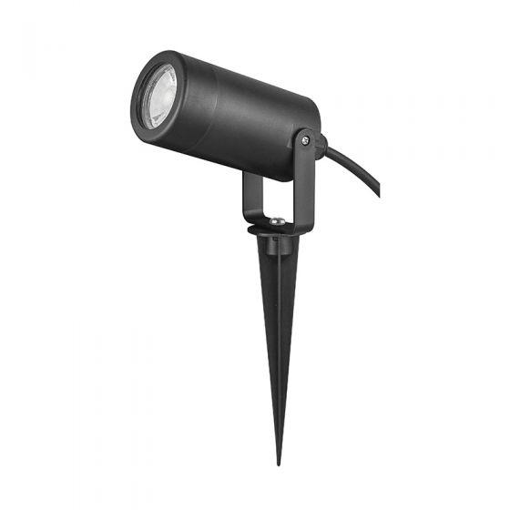 Edit Leaf Garden Spotlight - Black
