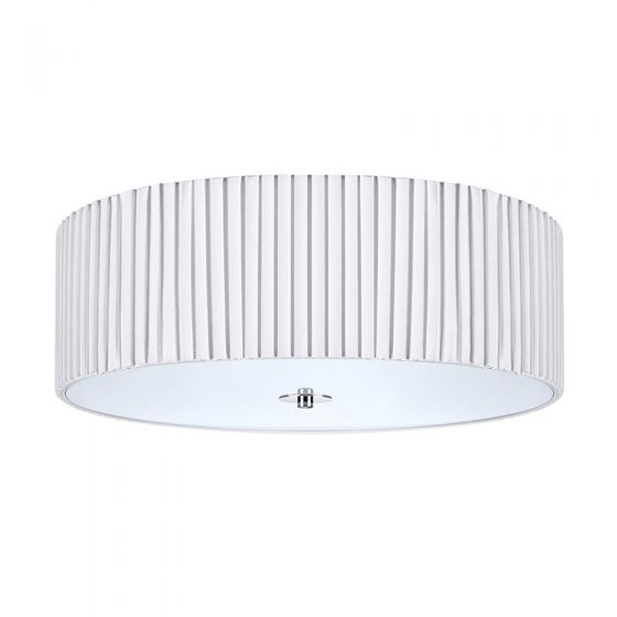 Jackie 45 Flush Ceiling Light - White